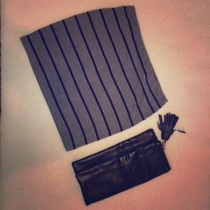 SKIRT AND CLUTCH COMBO
